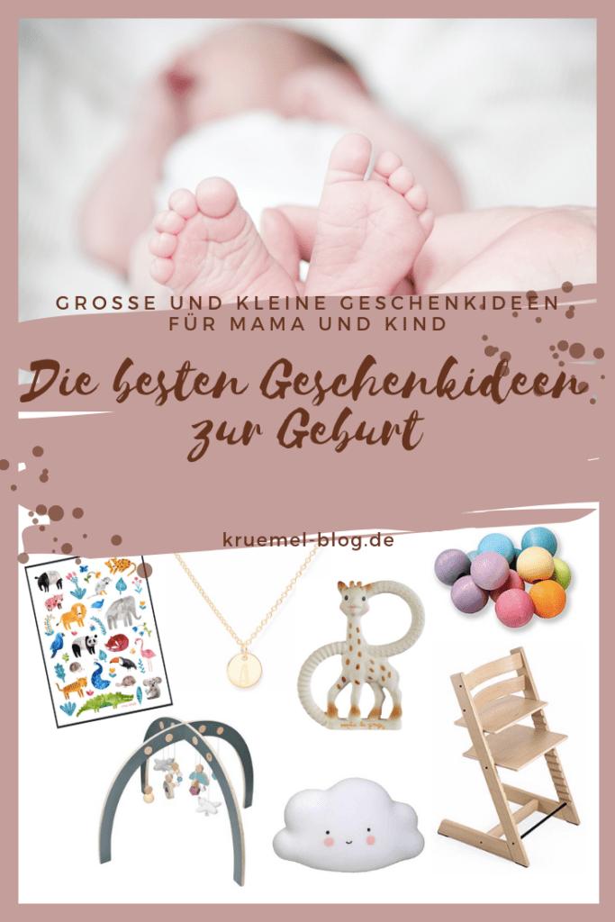 50 Geschenke Zur Geburt Individuelle Geschenkideen Fur Mama Und Kind