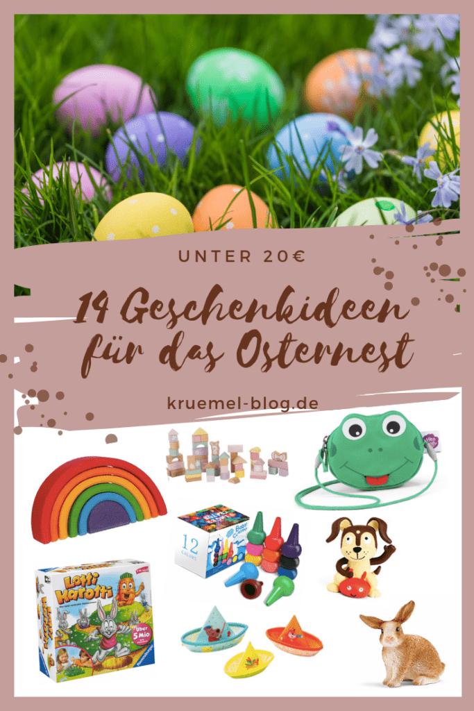Geschenkideen für Kinder für das Osternest unter 20€