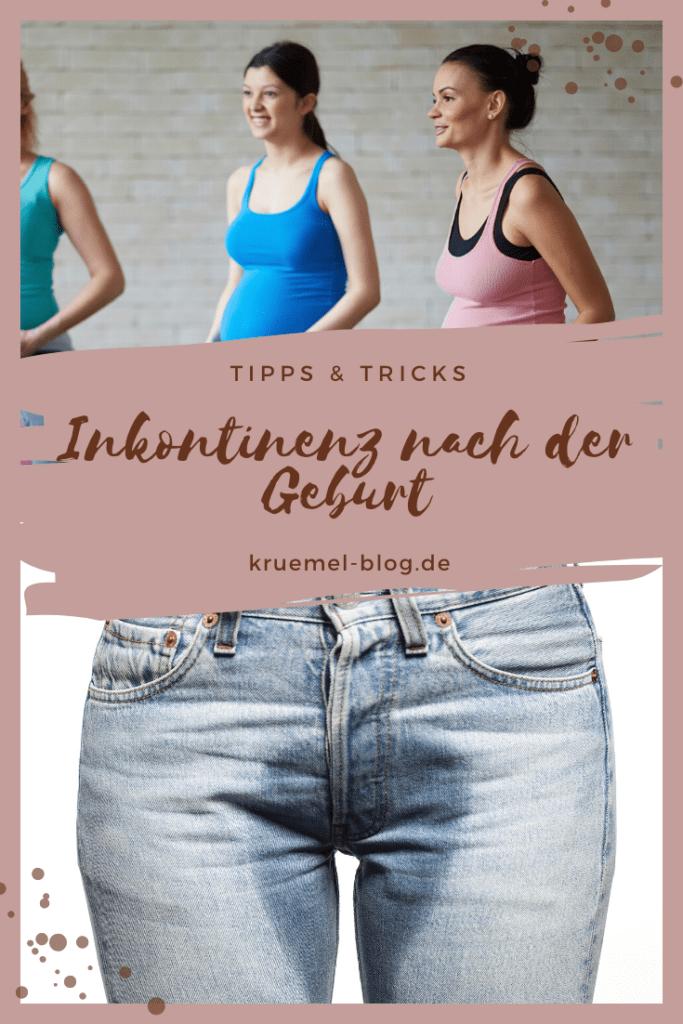 Inkontinenz nach der Geburt - Auf meinem Blog gebe ich dir Tipps & Tricks was du bei der Beckenbodenschwäche tun kannst und wie du deinen Beckenboden einfach und effektiv trainieren kannst